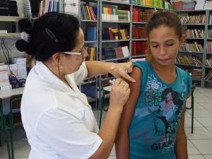 Campanha vacinação HPV em Arroio do Silva