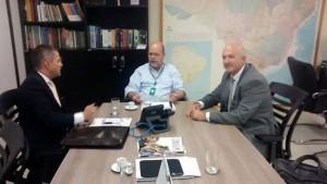 Prefeito vai ao Ministério da Saúde tratar sobre a construção do novo Posto