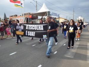 Caminhada em Arroio do Silva