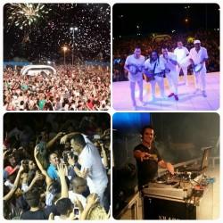 Multidão celebra a chegada do Ano Novo com grande festa em Arroio do Silva