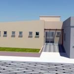 Auditório e sala serão construídos em unidade
