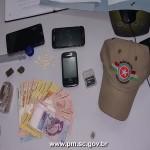 PM prende quatro com drogas em Arroio do Silva