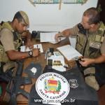 PM prende criminosos foragidos em Arroio do Silva