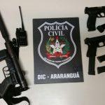Líder de quadrilha é preso pela Policia em Balneário Arroio do Silva