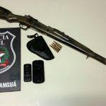 Polícia Civil apreende fuzil em Balneário Arroio do Silva